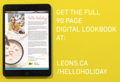 Leon's: Holiday Social Media